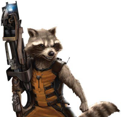 Rocket, heroe de Marvel. Por: Wikia