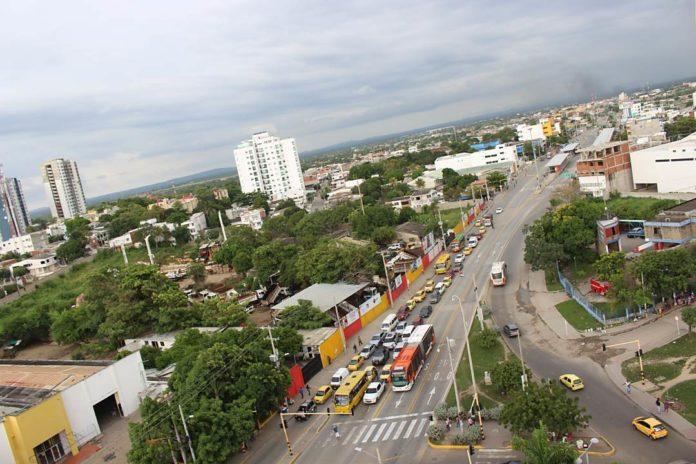 Zona Suroriental de Cartagena de Indias, foto Periódico El Sol Web.