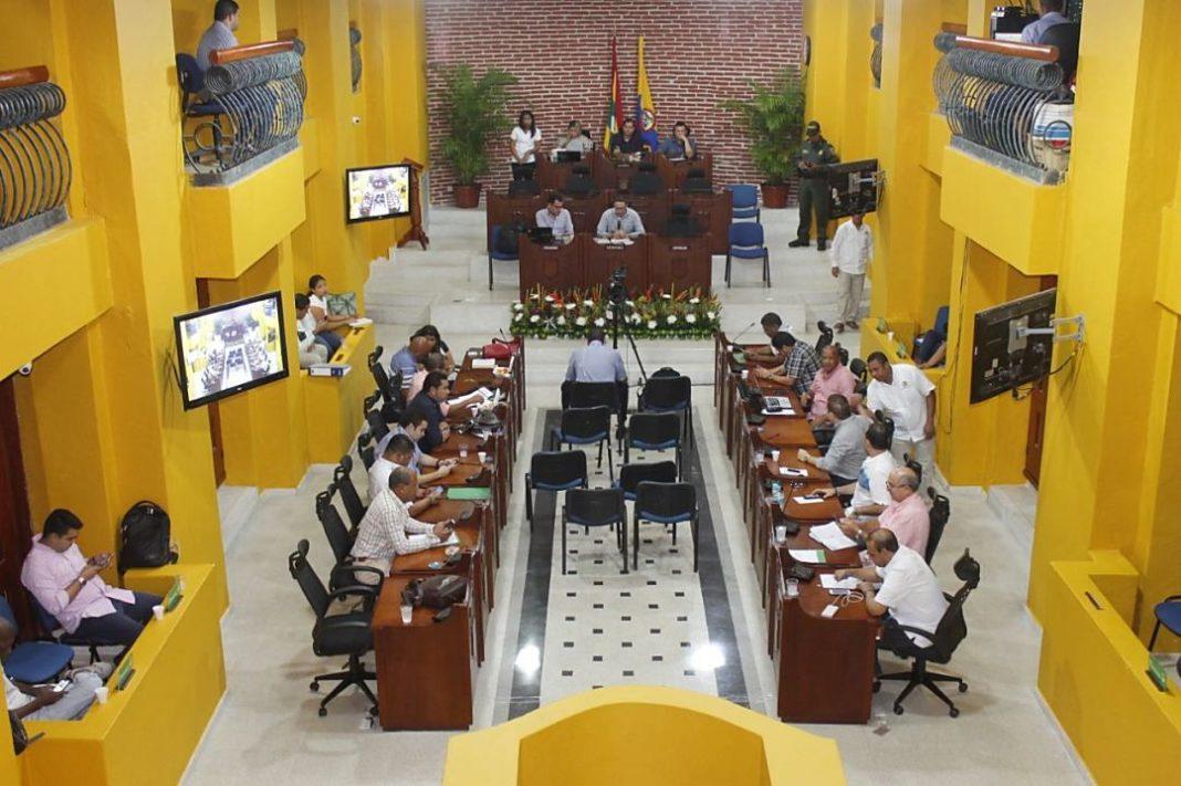Recinto del Concejo Distrital de Cartagena. Foto archivo.