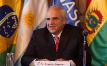 Ernesto Samper unasur