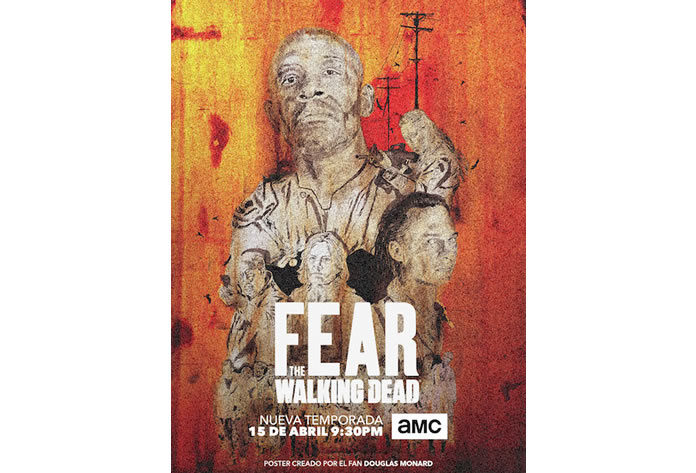 Fear The Walking Dead - Douglas Monard COLOMBIA