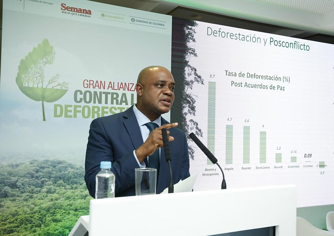 Ministro de Ambiente Luis Gilberto Murillo+1
