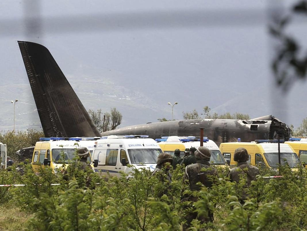 accidente avion algeria+1