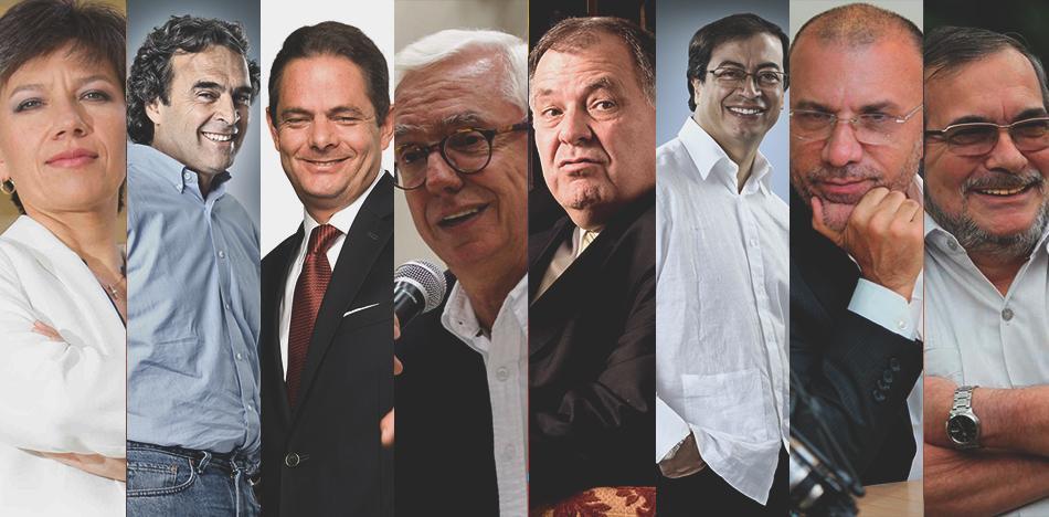 candidatos presidenciales colombia+1