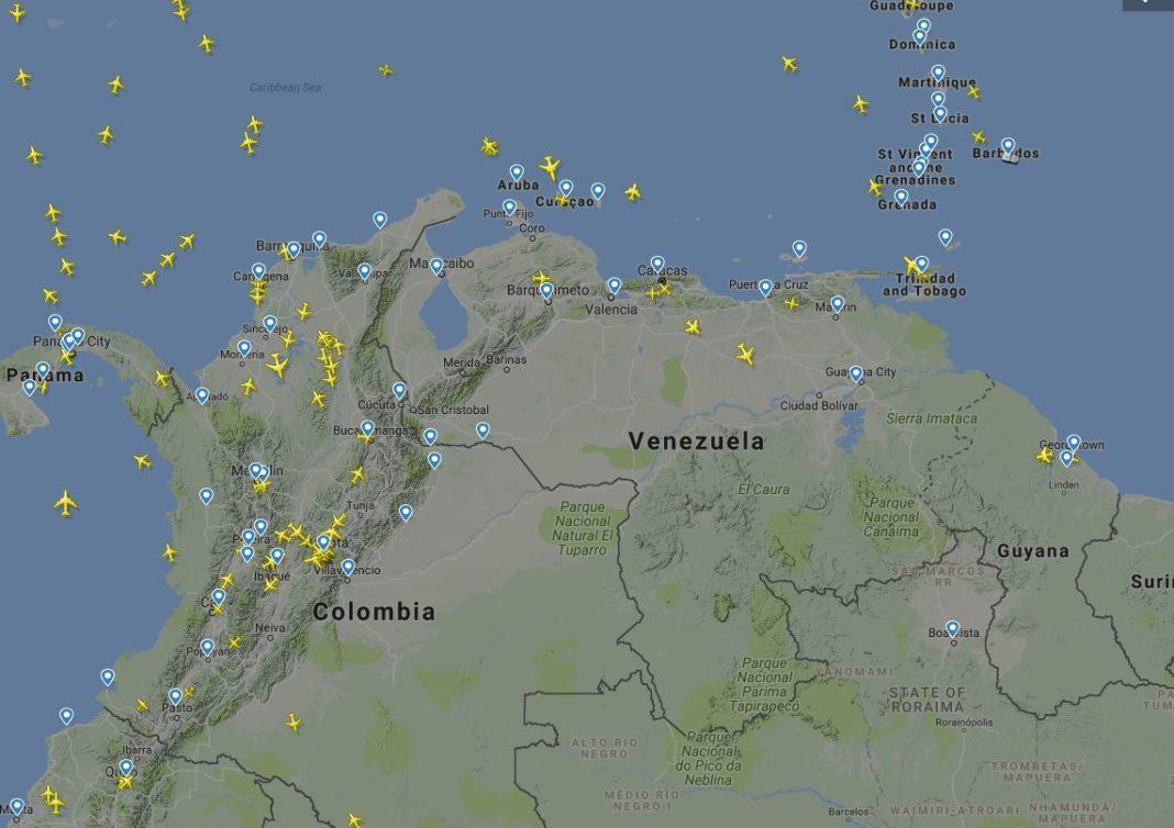 espacio aero venezuela