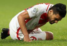 El Mónaco, campeón de la Ligue 1 la pasada temporada, no pudo contar con su capitán en la derrota ante el Guingamp el sábado (3-1), pero podría disputar el partido de la fecha 35. El 'Tigre' Falcao es el cuarto máximo realizador de la Ligue 1 con 18 goles, igualado con el delantero hispano-dominicano del Olympique de Lyon Mariano Día