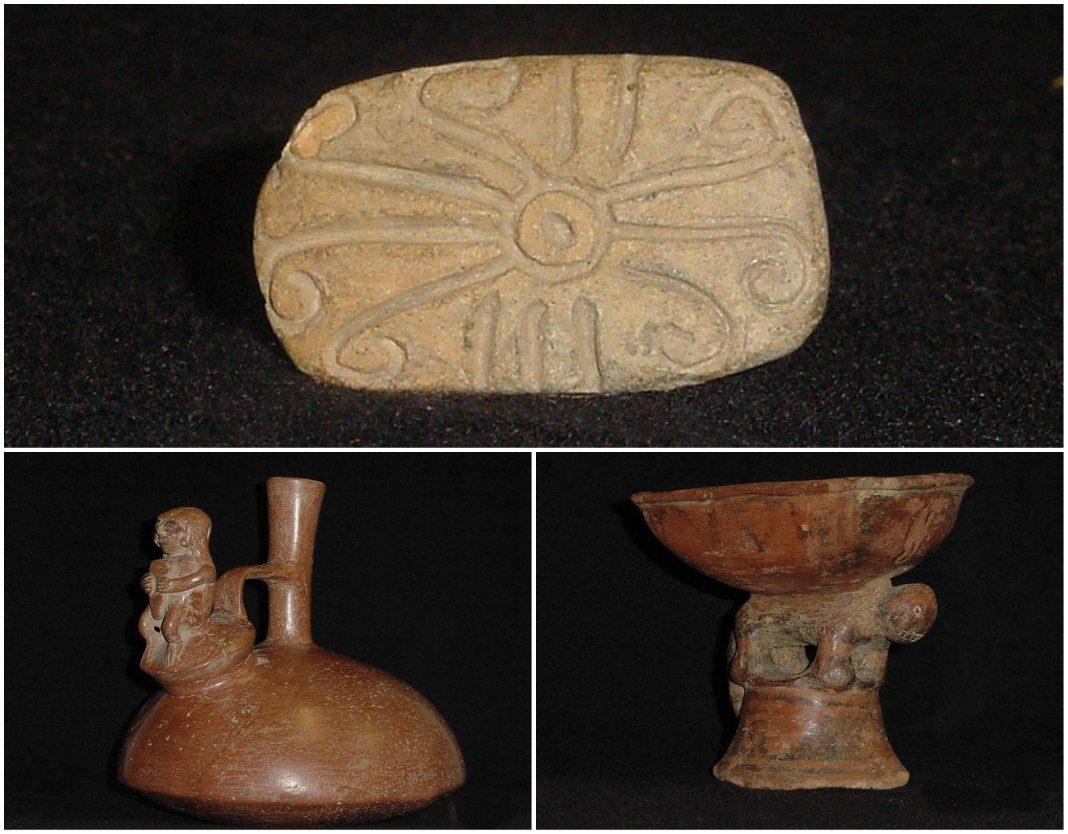 piezas arqueologicas precolombinas y coloniales