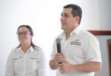 El Gobernador de Bolivar Dumek Turbay paz