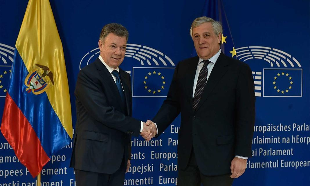Santos Visita Parlamento Europeo