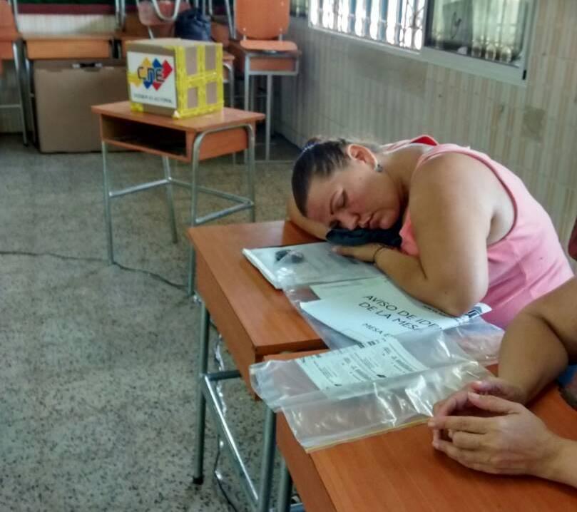 durmida votaciones