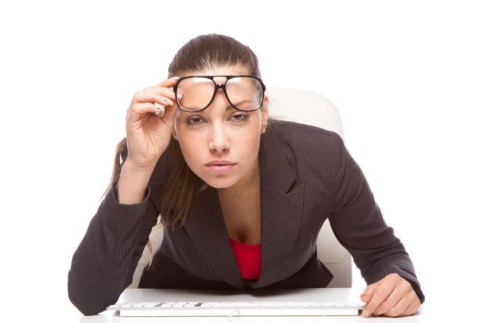 salud visual en el trabajo