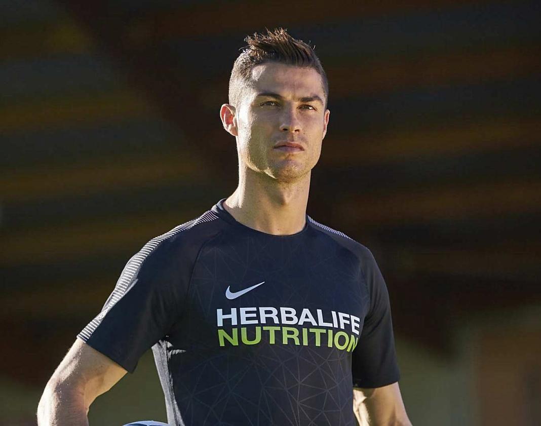 Cristian Ronaldo derechos herbalife+1