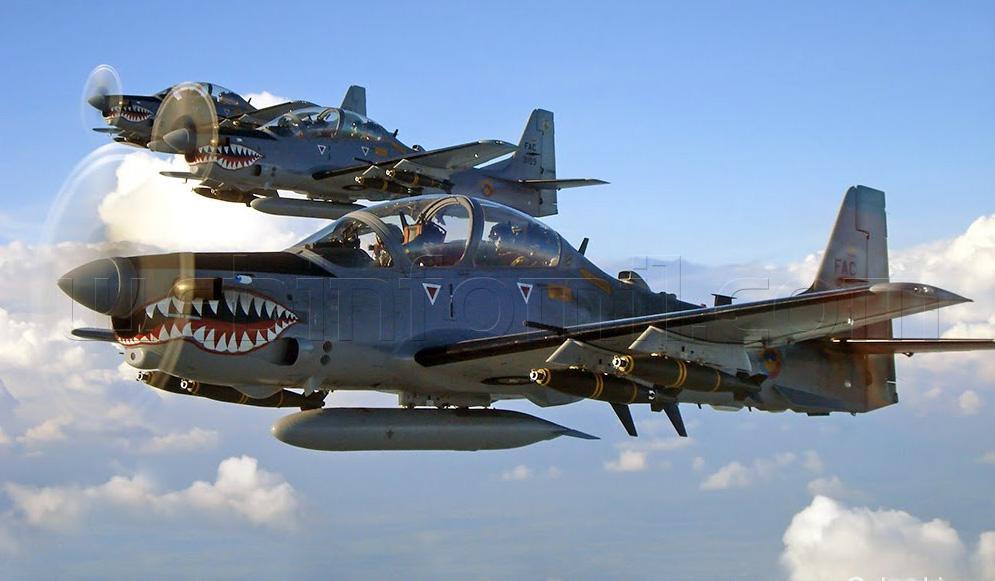 Super Tucano Fuerza Aerea+1