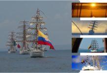 Cartagena se viste del azul de la bandera