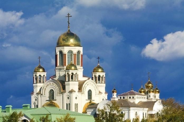 Catedral de la Sangre Derramada Ekaterimburgo
