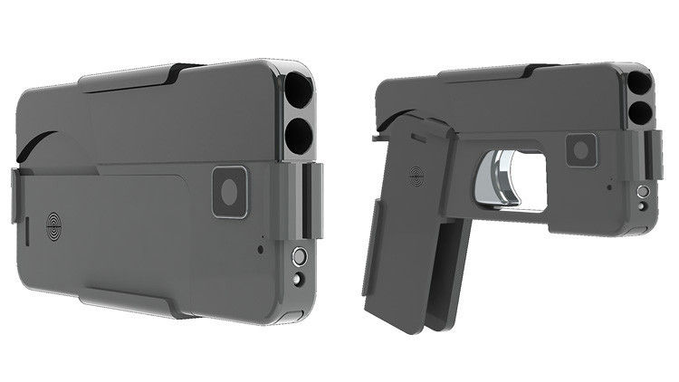 celular pistola