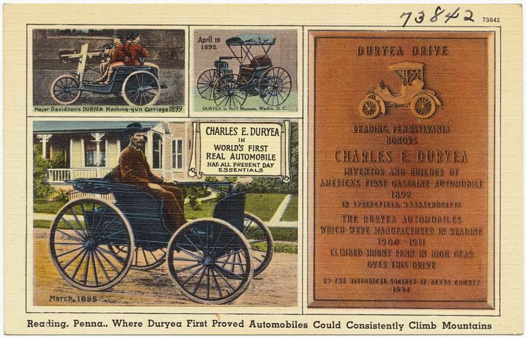 Duryea Motor Wagon Company+1