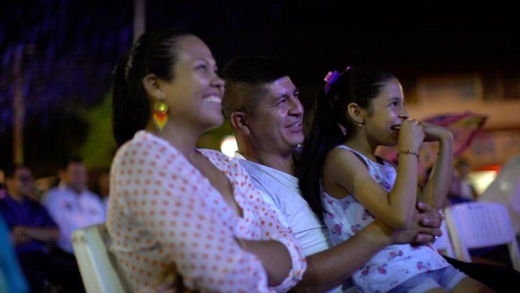 familias disfrutaron del cine+1