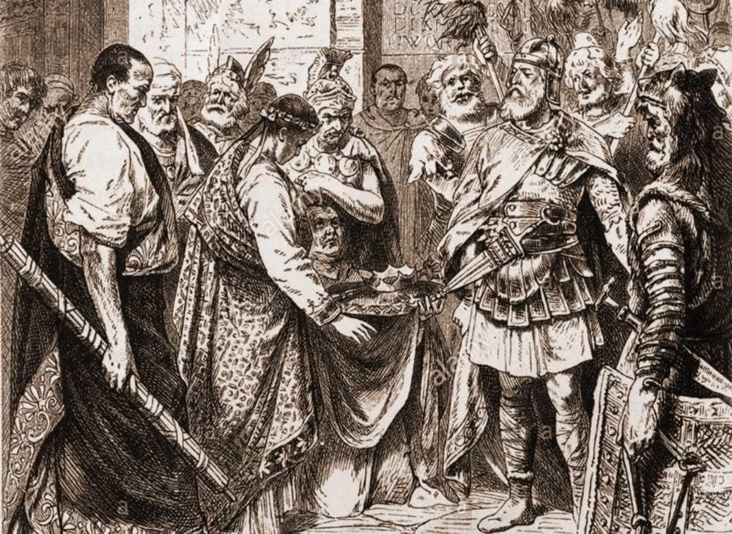 Resultado de imagen para Caída del Imperio romano de Occidente