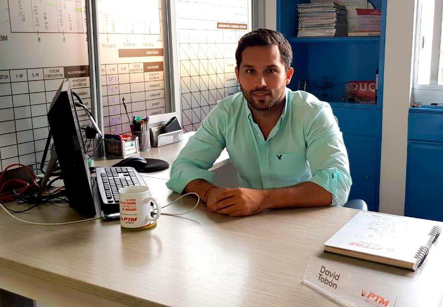 David Tobón 2 - Gerente de proyectos de PTM