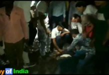 accidente india tren
