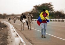 caminantes venezelanos