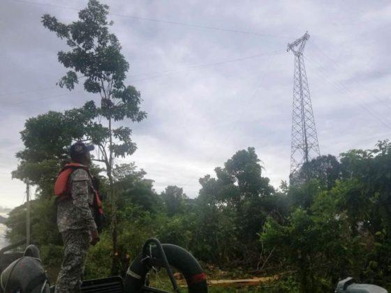 APOYO A EMERGENCIA POR CAIDA DE TORRE ELECTRICA SOBRE EL RÍO MAGDALENA (1)
