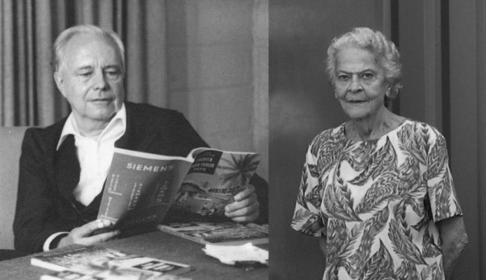 Roderich Thun y Manuela Tattenbach