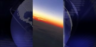 ovni desde avion