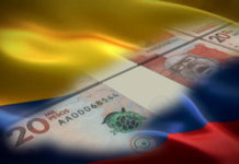 pesos bandera colombia
