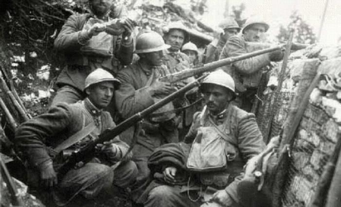 soldados primera guera