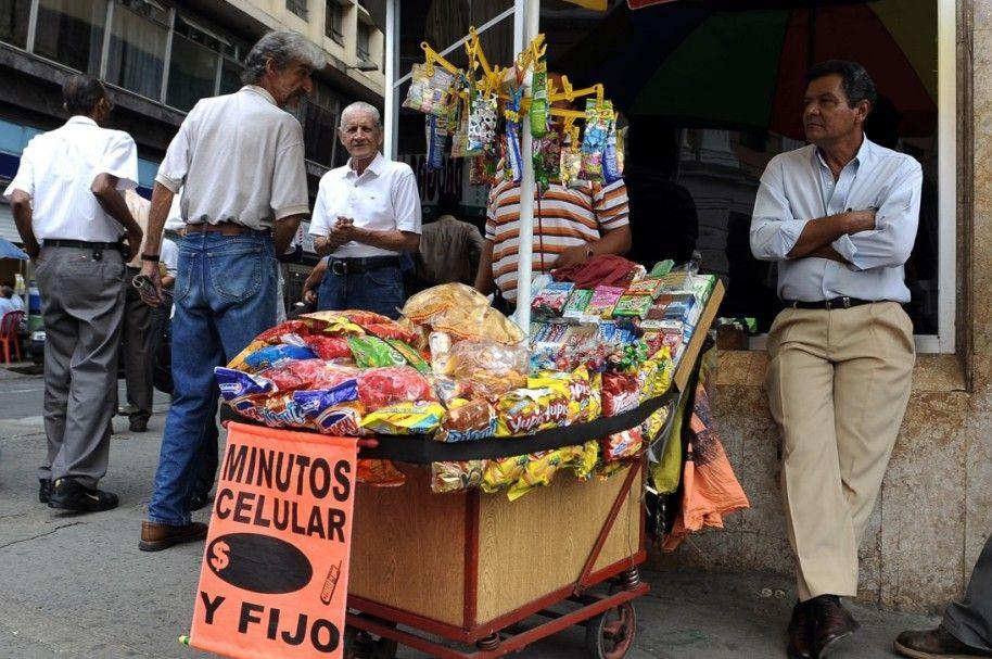 vendedor informal