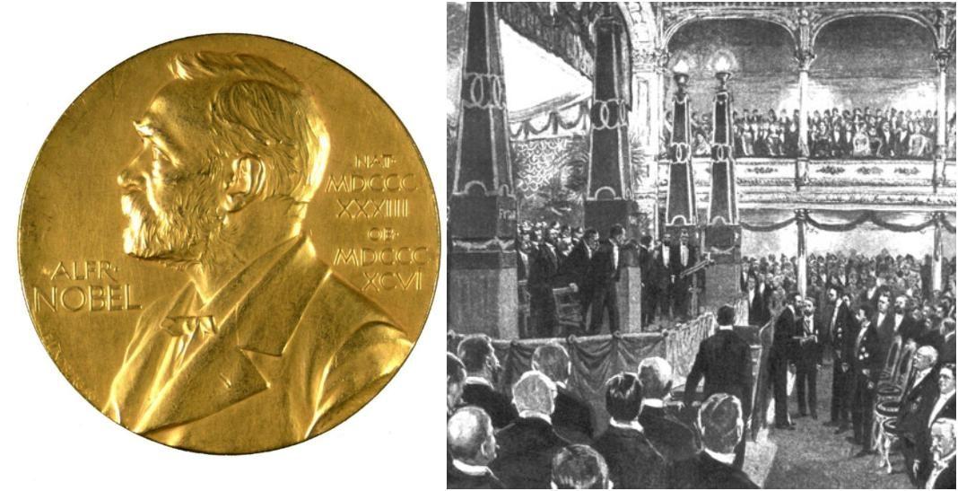 primer premio nobel