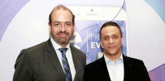 Alejandro Novoa, director de Busines everis Colombia y Alberto Martínez, fundador KUPI F+1