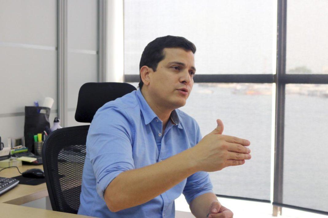 Irvin Pérez, Presidente Ejecutivo de Corpoturismo.