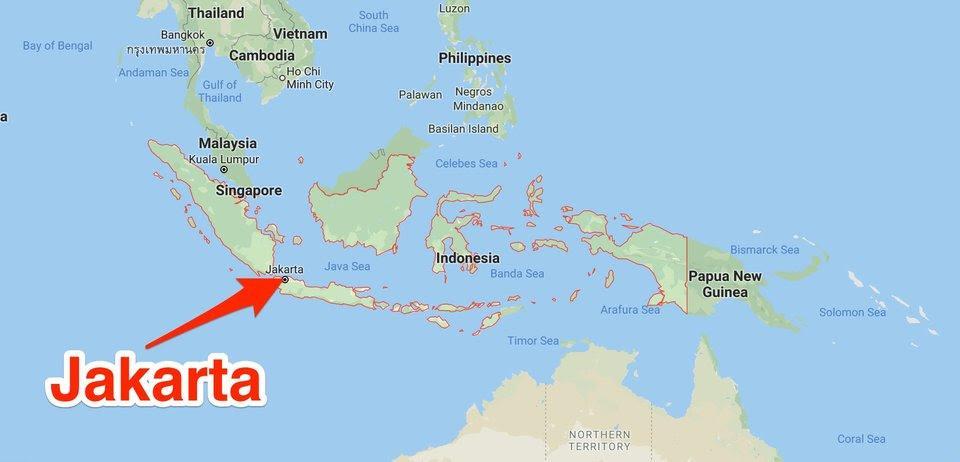 extensión geográfica de Indonesia+1