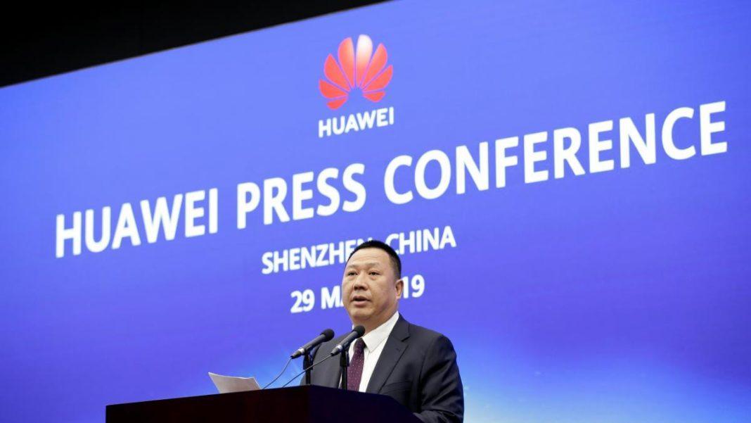 Song Liuping, jefe de la Oficina Legal de Huawei