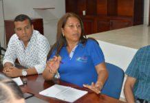 alcaldesa menor Patricia Zapata