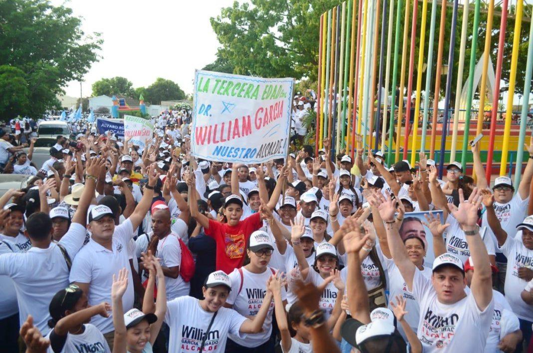 recorrido william Garcia