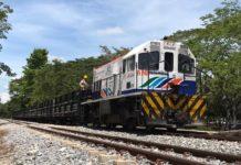 tren entre La Dorada y Santa Marta