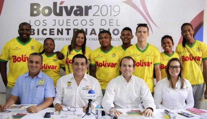 juegos nacionales de Bolivar+1