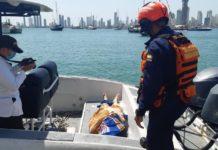Recuperacion cuerpo sin vida en islas de Rosario