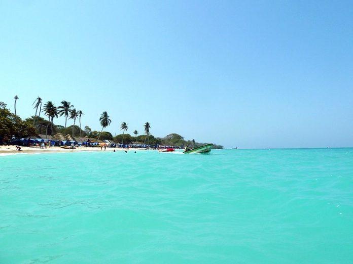 Playa blanca, Barú