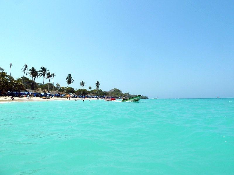 Playa blanca, Barú David Shankbone
