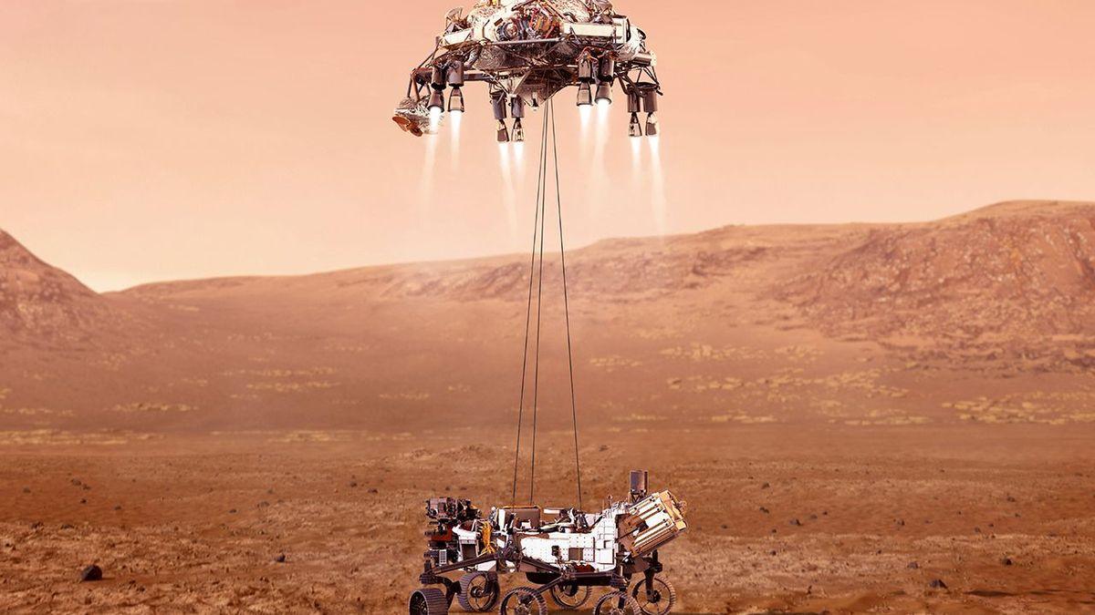 Llegada de Perseverance a Marte